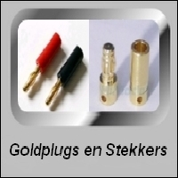 GOLDPLUGS en STEKKERS