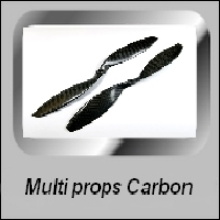 MULTI ROTOR CARBON PROPPEN