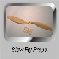 SLOW - FLYER PROPELLERS