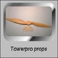 TOWERPRO PROPELLERS ELECTRO MOTOREN