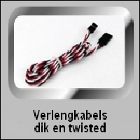 VERLENGKABELS DIK EN TWISTED